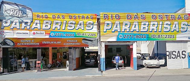 Lojas, Rio das Ostras Parabrisas Rio das Ostras, Macaé e